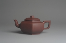 紫砂壶图片:美壶特惠 精致全手工六方雪华 泥料超好 矿物质丰富 - 全手工紫砂壶网