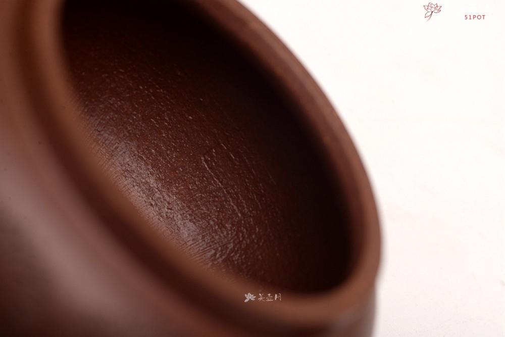 紫砂壶图片:张听刚精心装饰  刻绘精彩 大口实用 全手巨轮珠 摹曼生画 - 全手工紫砂壶网
