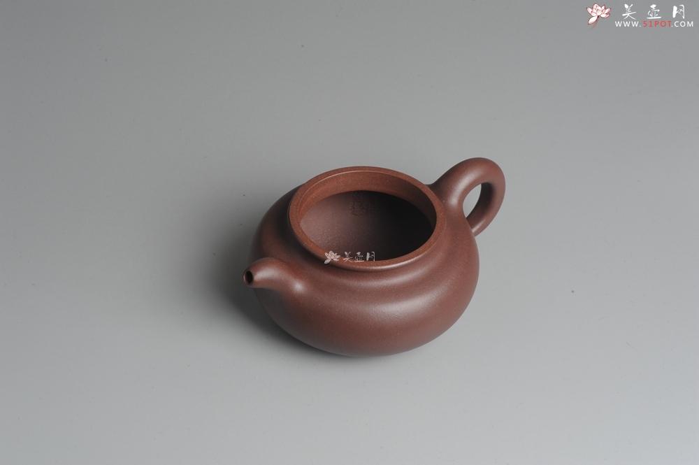 紫砂壶图片:一捺底精品全手工大亨仿古 有老味 请君细品 - 全手工紫砂壶网