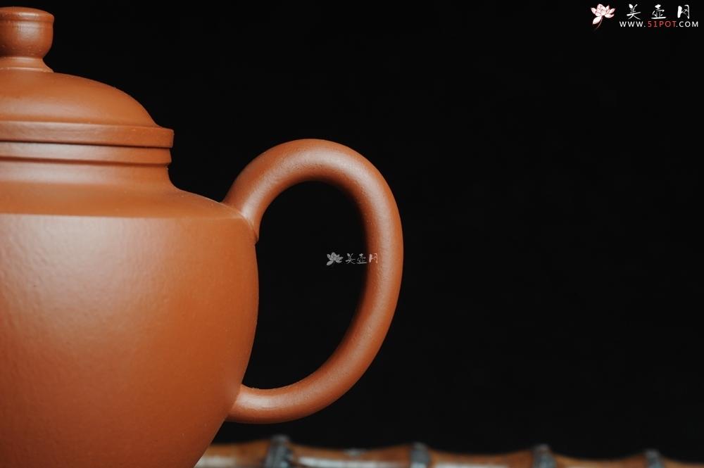 紫砂壶图片:端庄秀雅全手工明式剑流 - 全手工紫砂壶网