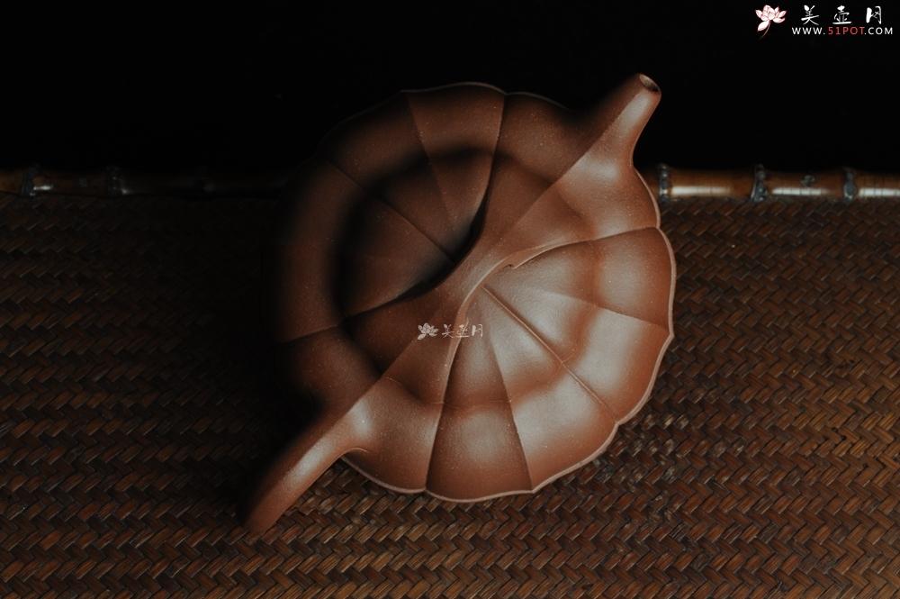 紫砂壶图片:全手工精品合菱 筋囊力作 难度大 - 全手工紫砂壶网