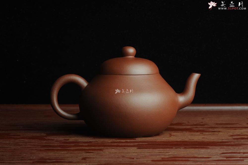 紫砂壶图片:美壶特惠 全手工精品秀雅梨形壶 茶人醉爱 - 全手工紫砂壶网
