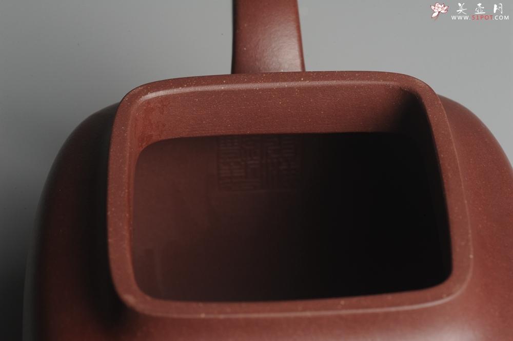 紫砂壶图片:实力派张海艳全手工鸣远四方 气势磅礴 用心之作 - 全手工紫砂壶网
