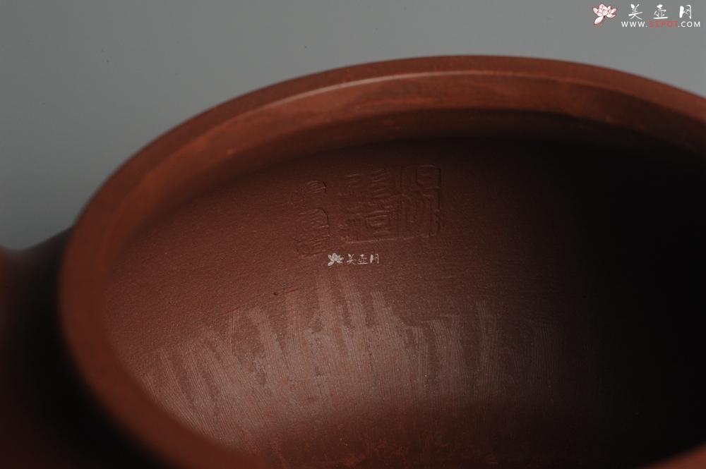 紫砂壶图片:实力派杨老师 难度灰常大 全手工大品大亨仿古 本色清水泥 稳重大气  适合收藏 - 全手工紫砂壶网