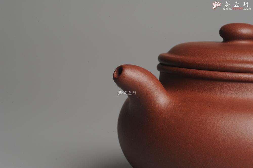 紫砂壶图片:油润底曹青 一捺底精品全手工大亨仿古 深得老味 请君细品 - 全手工紫砂壶网