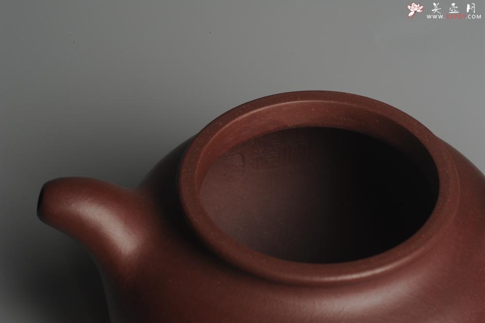 紫砂壶图片:实力派杨老师全手工紫茄泥小品大亨掇只 深得其味 泥料灰常油润 - 全手工紫砂壶网