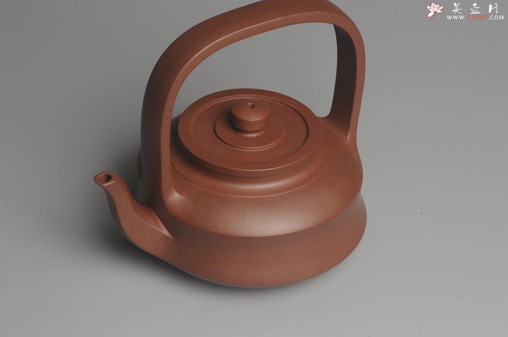 紫砂壶图片:进步明显 扛鼎之作 全美品 难度大刹凹单片折肩拍打成型全手工提壁壶 且玩且珍惜 - 全手工紫砂壶网