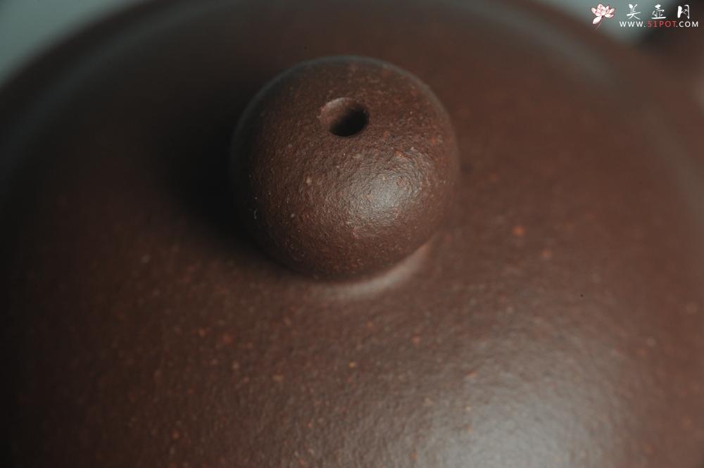 紫砂壶图片:美壶特惠 全手工优质老拼紫泥刹凹成型单片拍打潘壶 - 全手工紫砂壶网