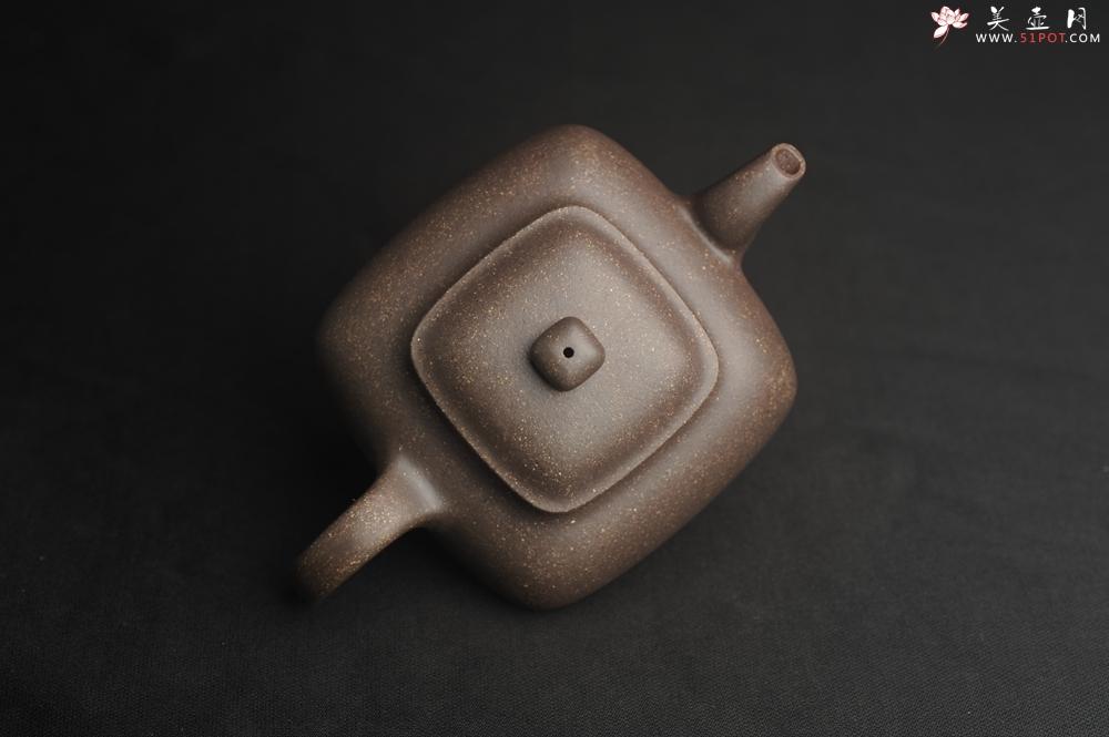 紫砂壶图片:实力派张海艳全手工特好老青灰段泥传炉壶 线面挺括 大气 做工特好 - 全手工紫砂壶网