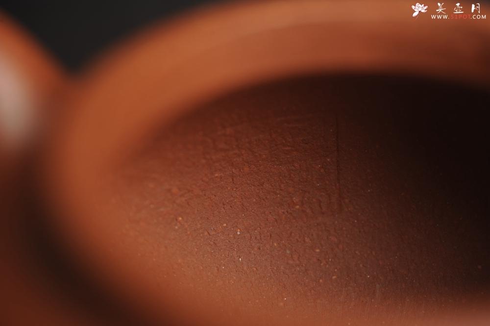 紫砂壶图片:油润降坡泥 超精致全手工仿古壶 气韵流畅 - 全手工紫砂壶网