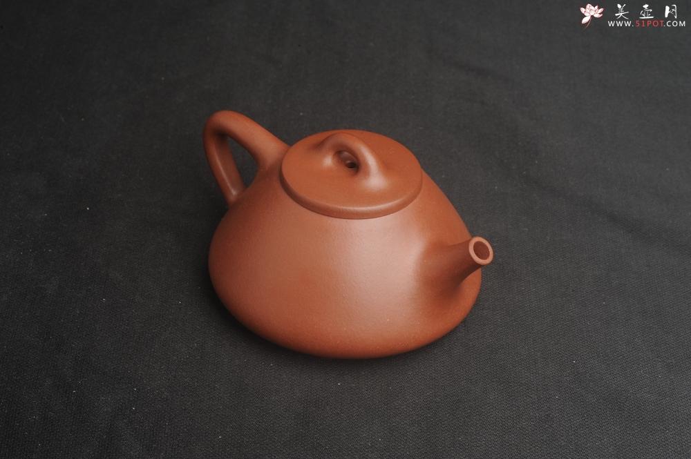 紫砂壶图片:特好底曹青全手工小品子冶石瓢茶壶 特文气 - 全手工紫砂壶网