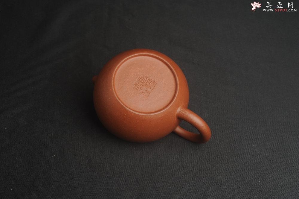 紫砂壶图片:油润降坡泥全手工小品西施壶  装饰童子图 天真无邪 - 全手工紫砂壶网