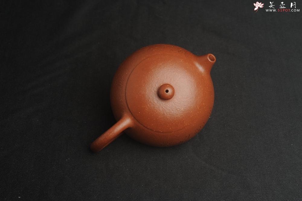 紫砂壶图片:油润降坡泥全手工小品西施壶 装饰静心图 心恬神宁 - 全手工紫砂壶网