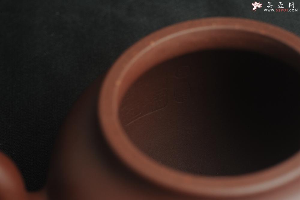 紫砂壶图片:油润黄龙山4号深井红皮龙 全手工高宫灯壶 东西灰常赞 - 全手工紫砂壶网