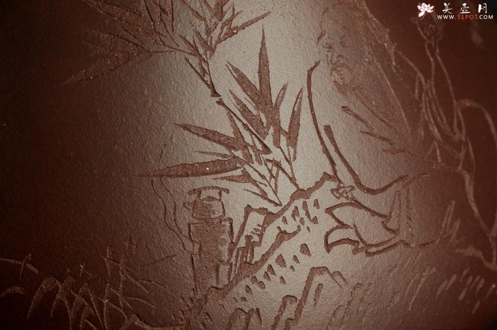 紫砂壶图片:潜力股周小培 特好全手工底槽清子冶石瓢 助工装饰品茶玩壶图 特文气 - 全手工紫砂壶网
