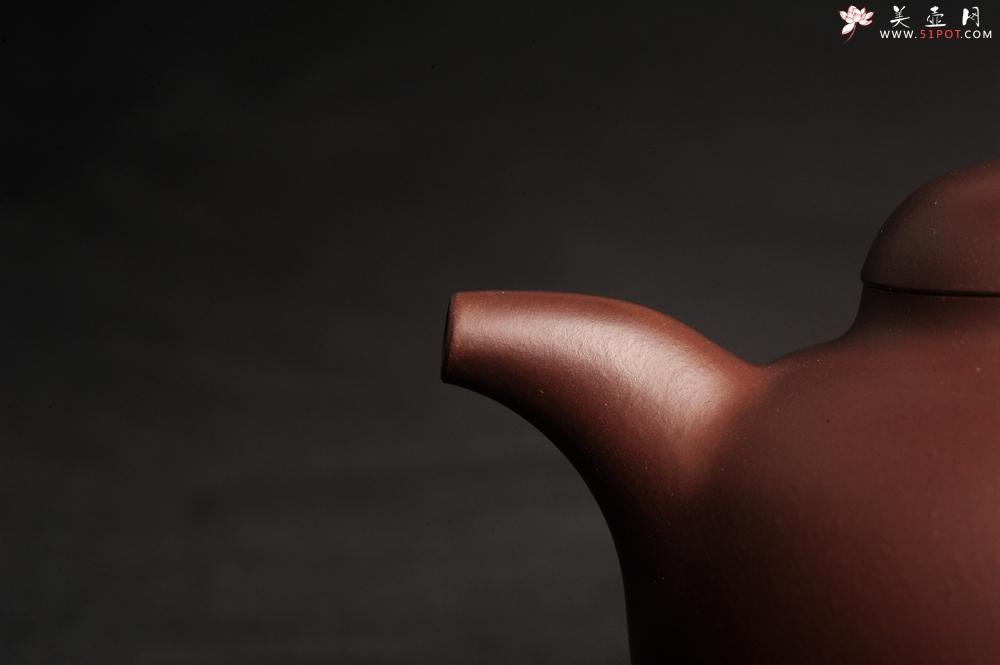 紫砂壶图片:潜力股周小培老师 原创全手工底槽青圆掇壶 - 全手工紫砂壶网