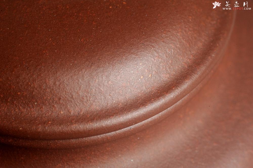 紫砂壶图片:油润底曹青 全手工仿古壶 深得老味 做工灰常好 请君细品 作品说话 - 全手工紫砂壶网