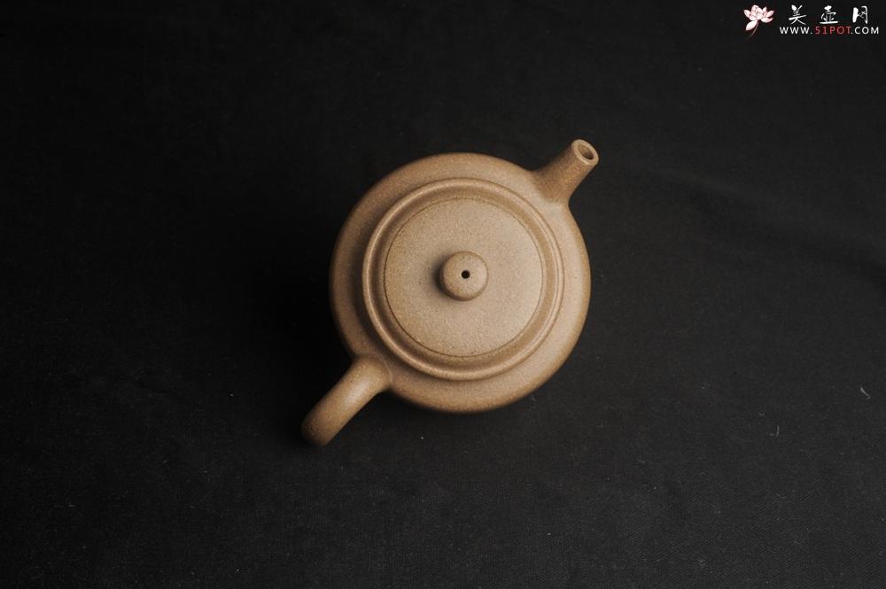 紫砂壶图片:高温油润黄龙山本山老段泥 全手工德中壶 做工特好 - 全手工紫砂壶网