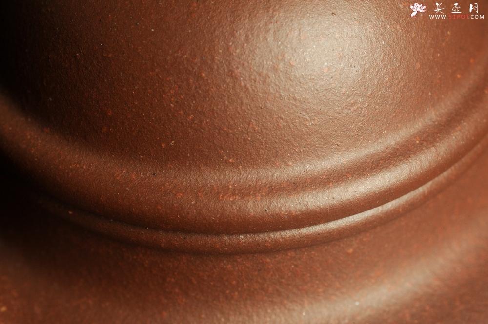 紫砂壶图片:油润底曹青 全手工寿珍掇球 深得老味 做工灰常好 请君细品 作品说话 - 全手工紫砂壶网