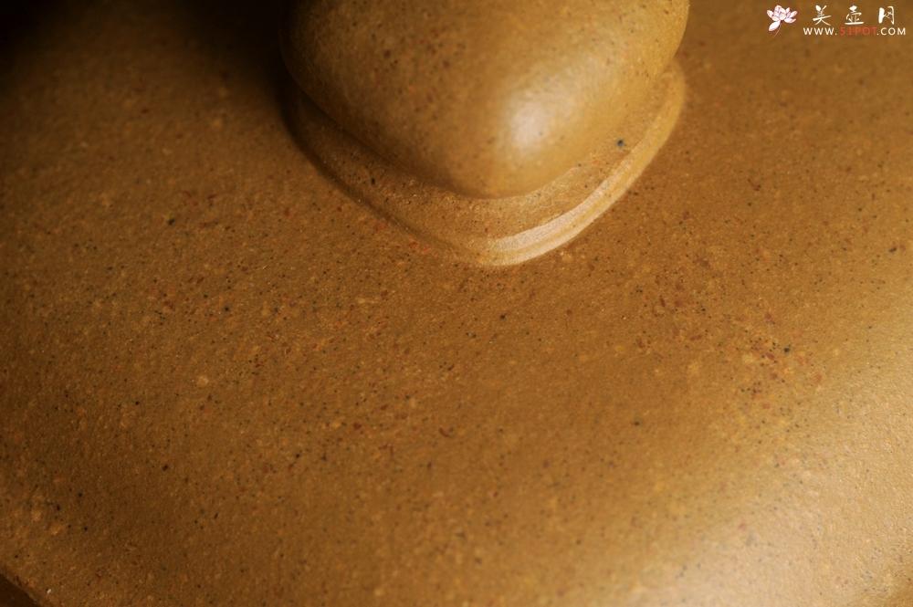 紫砂壶图片:实力派张海艳 全手精工黄金段泥传大炉壶 泥料做工俱佳 期待与您结缘 - 全手工紫砂壶网