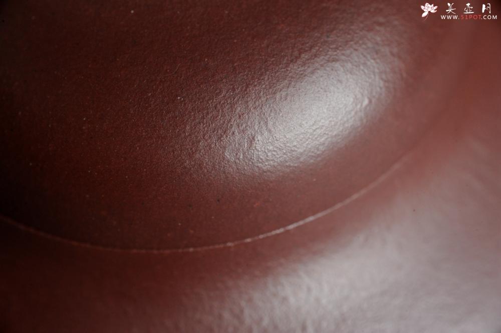 紫砂壶图片:潜力股周小培老师 4号井深井红皮龙 超精致全手工三足乳鼎茶壶 - 全手工紫砂壶网