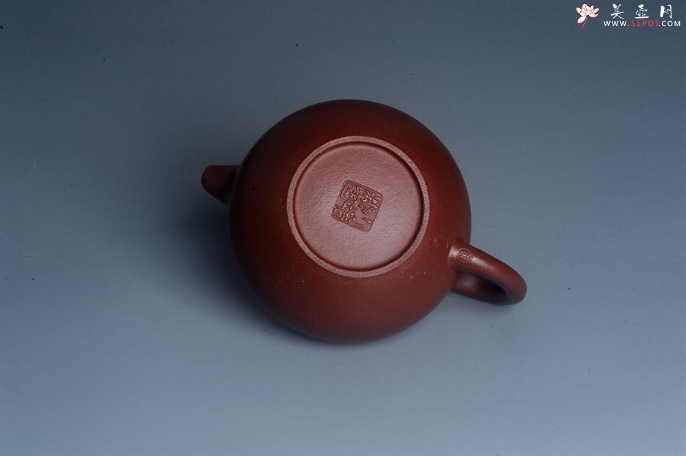 紫砂壶图片:潜力股周小培老师 油润降坡泥全手工茄瓜壶 - 全手工紫砂壶网