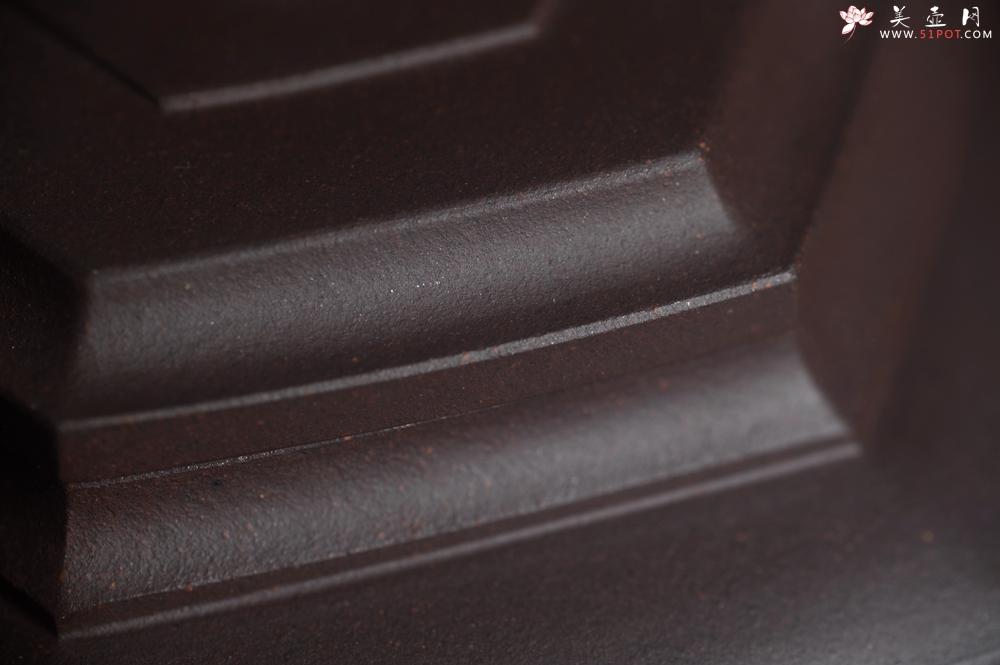 紫砂壶图片:美壶特惠 潜力股凌晨老师 精致紫泥全手工雪华壶 期待与您结缘 - 全手工紫砂壶网
