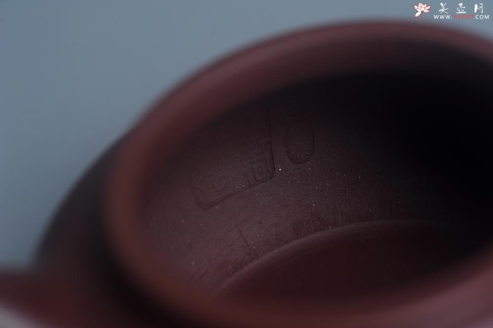 紫砂壶图片:潜力股周小培老师 4号井深井红皮龙 超精致全手工仿古壶 做工不输万元同类作品 - 全手工紫砂壶网