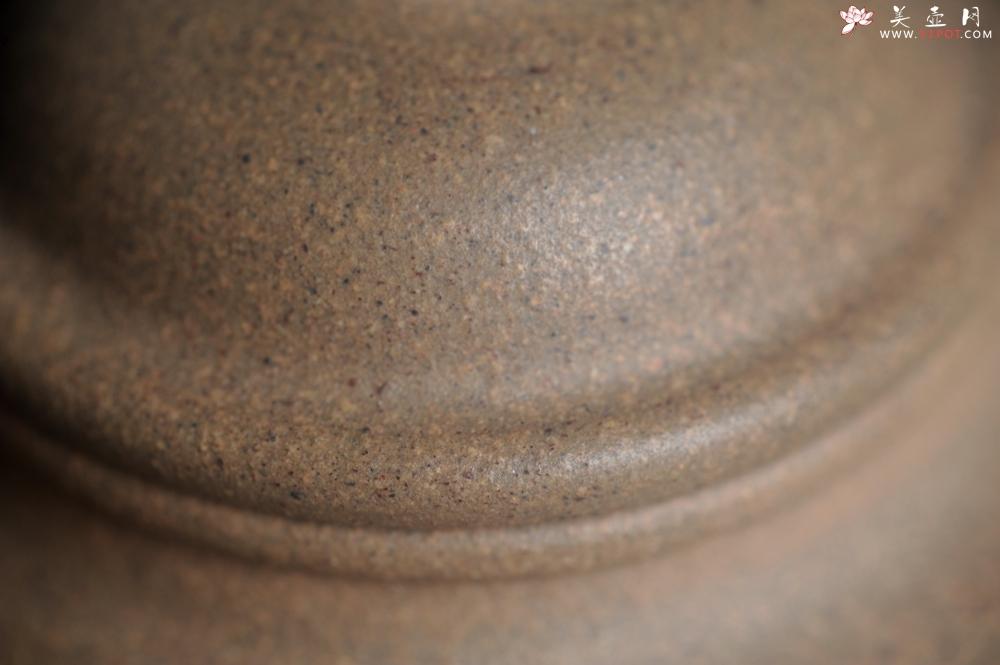 紫砂壶图片:特好高温本山老段泥 全手工大彬圈钮紫砂壶 - 全手工紫砂壶网